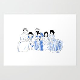 Family Portrait Art Print