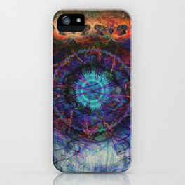 Timepiece of a lost age iPhone Case