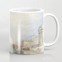 Venice from the Porch of Madonna della Salute by Joseph Mallord William Turner ca. 1835, British Coffee Mug