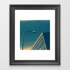 POP architecture  Framed Art Print