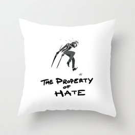 TPoH: Negative Throw Pillow