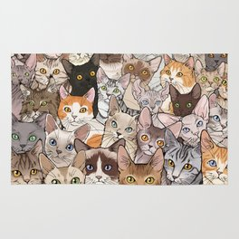 A lot of Cats Rug