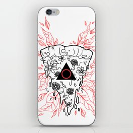 Flower Pizza iPhone Skin