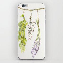 Hanging Herbs  iPhone Skin