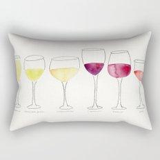 Wine Collection Rectangular Pillow