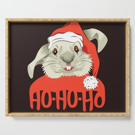 The Christmas Rabbit Serving Tray