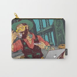 Hipster Cowboy Carry-All Pouch
