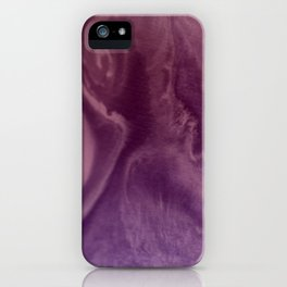 Watercolors purple and pink.Abstract Painting iPhone Case
