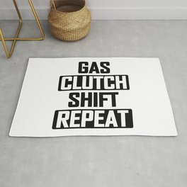 Gas Clutch Shift Repeat Rug