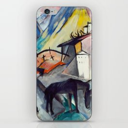 "Franz Marc ""The Unfortunate Land of Tyrol"" iPhone Skin"