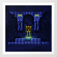 metroid Art Prints featuring Metroid by likelikes