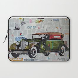 Old Classic Car Laptop Sleeve