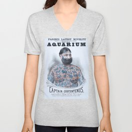 Captain Costentenus, tattoed from head to foot Poster Unisex V-Neck