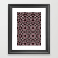 roses and pearls Framed Art Print
