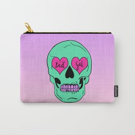 Bad Gal Skull Carry-All Pouch