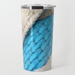 Shoe Fabric Close- Up Travel Mug