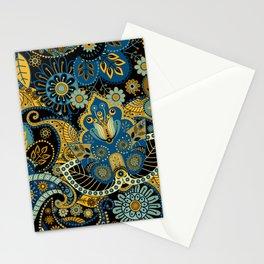 Khokhloma floral pattern Stationery Cards