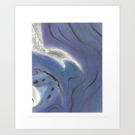 Yin and Yang Koi (3 of 3) Art Print