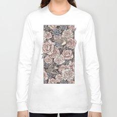 Flowers & Swallows Long Sleeve T-shirt