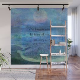 Emily Dickinson hope quote Wall Mural