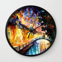 Tardis Stay In The Bridge Wall Clock