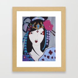 Himiko Framed Art Print