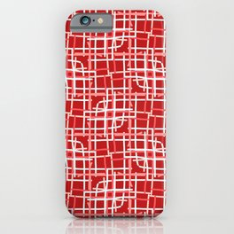 We love pattern 02D iPhone Case