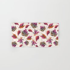 Maple Pattern Hand & Bath Towel
