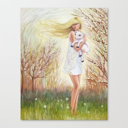 Field of Peace Canvas Print
