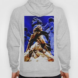 Blue Angel Wings Hoody