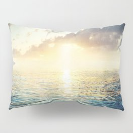 Bright Blue Horizons Pillow Sham