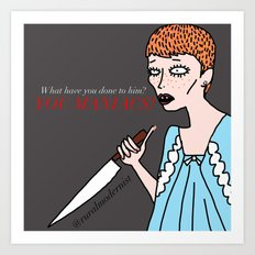 Female Trouble Series: Rosemary Woodhouse from Rosemary's Baby Art Print