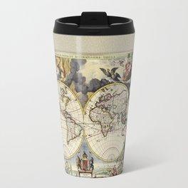 World Old Map Travel Mug