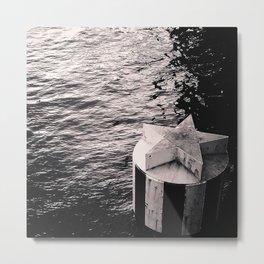 wish on the water Metal Print