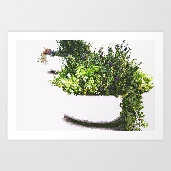 Garden plant Art Print