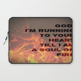 Soul on Fire Laptop Sleeve