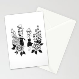 Bunny Trip Stationery Cards
