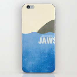 Jaws - Minimal iPhone Skin