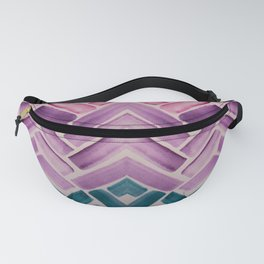 Decor Colorful Watercolor Abstract Pattern Fanny Pack