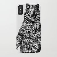 bioworkz iPhone & iPod Cases featuring Ornate Grizzly Bear by BIOWORKZ