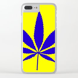 Weed Hash Bash Clear iPhone Case