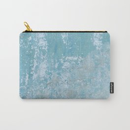 Vintage Galvanized Metal Carry-All Pouch