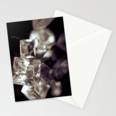 crystal structure Stationery Cards