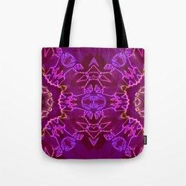 purple mandala Tote Bag