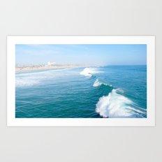 Huntington Beach  Art Print