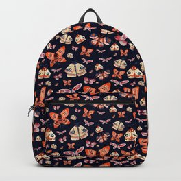 Moth pattern 2 Backpack
