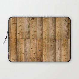 Wood Planks Dark Laptop Sleeve