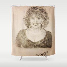 Joy Behar Shower Curtain