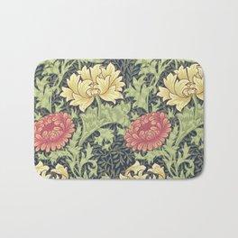 William Morris Chrysanthemum Bath Mat