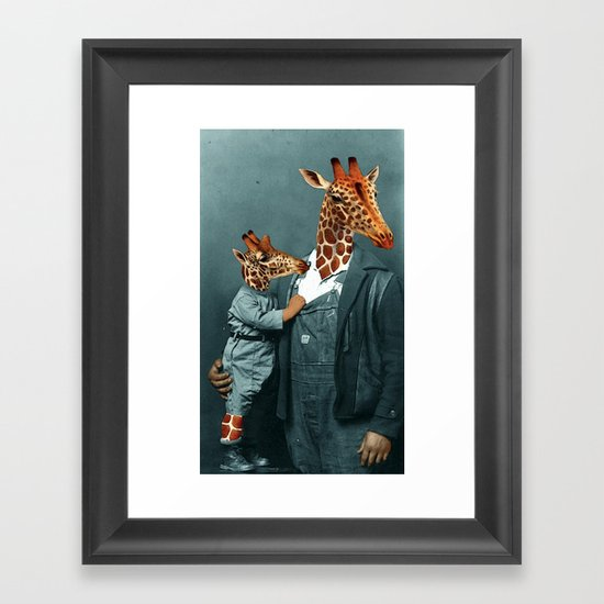 THAT'S MY BOY Framed Art Print